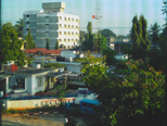 a photograph from our flat in Dar es Salaam